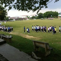 Photo taken at SMK Jalan Damai by Michael N. on 2/18/2012