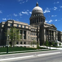 Photo taken at Idaho State Capitol by Dan S. on 4/23/2012