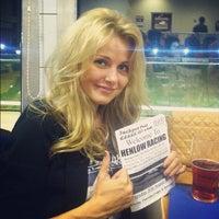 Photo taken at Henlow Dog Stadium by Alisa 🐺 B. on 8/30/2012