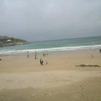 Photo taken at Towan Beach by itsnoel .. on 7/16/2012