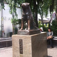 Photo taken at Hachiko Statue by 英伸 須. on 6/2/2012