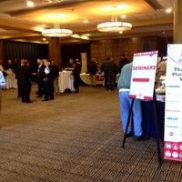 Photo taken at Sheraton Baltimore North Hotel by Jose V. on 4/26/2012