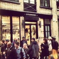 Photo taken at GoodHood by Miguel C. on 9/13/2012