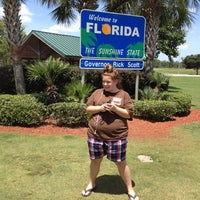 Photo taken at Florida Welcome Center (US 231) by Mandy M. on 6/16/2012
