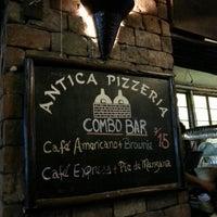 Photo taken at Antica Pizzería by Pun P. on 9/2/2012