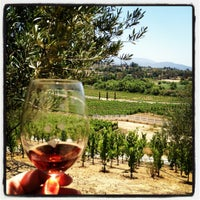 Photo taken at Cougar Vineyard & Winery by Edith V. on 5/19/2012