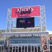 Photo taken at XFINITY Live! Philadelphia by Dave W. on 4/6/2012