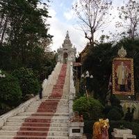 Photo taken at Wat Prathat Cho Hae by Witchaya T. on 3/11/2012