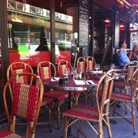 Photo taken at Café Lazar by Stephanie B. on 5/25/2012