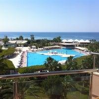 Photo taken at Riu Kaya Belek Hotel by Tunc T. on 6/18/2012