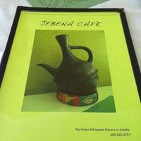 Photo taken at Jebena Cafe by Pablo L. on 2/27/2012