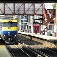 Photo taken at LIRR - Mineola Station by Jason R. on 4/17/2012