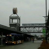 Photo taken at Federal Way Transit Center by Derek W. on 3/2/2012