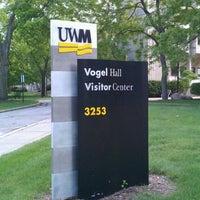 Photo taken at UWM Student Union by Joe H. on 6/3/2012