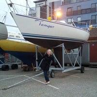 Photo taken at Pärnu Jahisadam by Ain P. on 5/12/2012