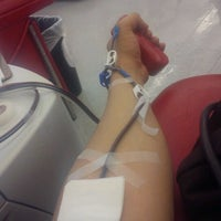 Photo taken at United Blood Services by Ruben M. on 3/14/2012