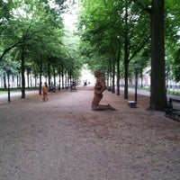 Photo taken at Lange Voorhout by Steven O. on 8/5/2012
