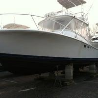Photo taken at South Jersey Marina by Augustus M. on 3/17/2012