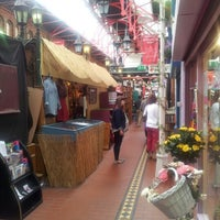 Photo taken at George's Street Arcade Market by Julentxo on 7/21/2012