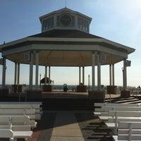Photo taken at Rehoboth Beach Bandstand by Gar G. on 3/29/2012