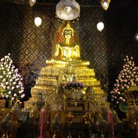 Photo taken at Wat Phichaiyatikaram by Joobjang N. on 4/15/2012
