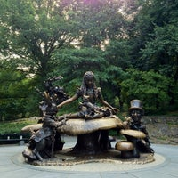 Photo taken at Alice in Wonderland Statue by Donald M. on 7/18/2012