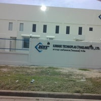 Photo taken at Rojana Industrial Park 2 by ดรีม ซ. on 7/23/2012