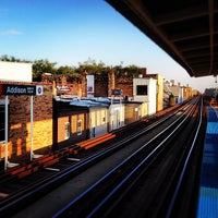 Photo taken at CTA - Addison by Jeremy on 8/19/2012