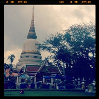 Photo taken at Wat Phra Si Mahathat by Jeff S. on 8/4/2012