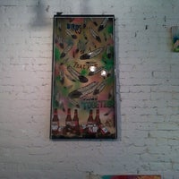 Photo taken at Pop up art gallery (project canvas) by Januari A. on 8/4/2012