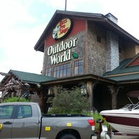 Photo taken at Bass Pro Shops by Ted M. on 7/30/2012