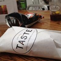 Photo taken at TASTE by Aubrey B. on 3/10/2012