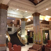 Photo taken at The Seelbach Hilton Louisville by Jeremy L. on 9/4/2012