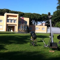 Photo taken at Cinecittà Studios by Pietro V. on 5/15/2012