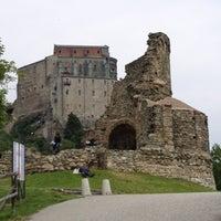 Photo taken at Sacra di San Michele by Dacil on 5/27/2012