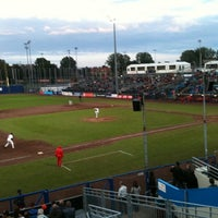 Photo taken at Pim Mulier Baseball Stadium by Jason S. on 7/15/2012