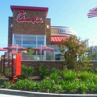 Photo taken at Chick-fil-A South Bay by Mary Claire P. on 8/12/2012
