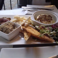 Photo taken at Bistro Sous-Le-Fort by Edward S. on 6/24/2012