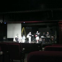 Photo taken at Court Square Theater by Julianne B. on 8/26/2012