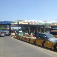Photo taken at Pasteur Toll Gate by Alvian on 7/13/2012