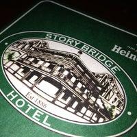 Photo taken at Story Bridge Hotel by Daniel B. on 8/31/2012