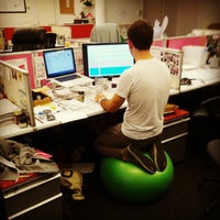 Photo taken at Birchbox HQ by Ryan W. on 6/15/2012