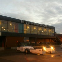 Photo taken at Moss Lufthavn, Rygge (RYG) by Haydee F. on 6/10/2012