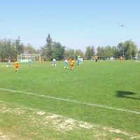 Photo taken at Canchas de entrenamiento del Estadio San Carlos de Apoquindo. by Gabriel N. on 3/17/2012