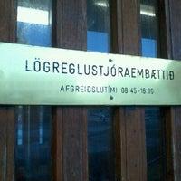 Photo taken at Lögreglustöðin Hverfisgötu by Selma H. on 2/9/2012