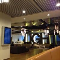 Photo taken at Lufthansa Senator Lounge B by Roy W. on 6/17/2012