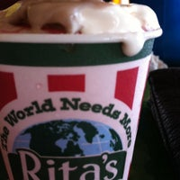 Photo taken at Rita's - Whitlock Ave. by Ashley G. on 6/23/2012
