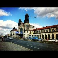 Photo taken at Prague Main Railway Station by Peter G. on 9/8/2012