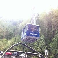 Photo taken at Grouse Gondola by Robert T. on 4/27/2012