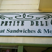 Photo taken at Petite Deli by Amanda R. on 7/23/2012